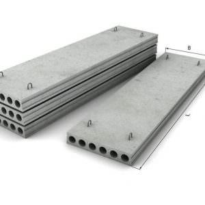 Плиты перекрытия ширина 1,5м